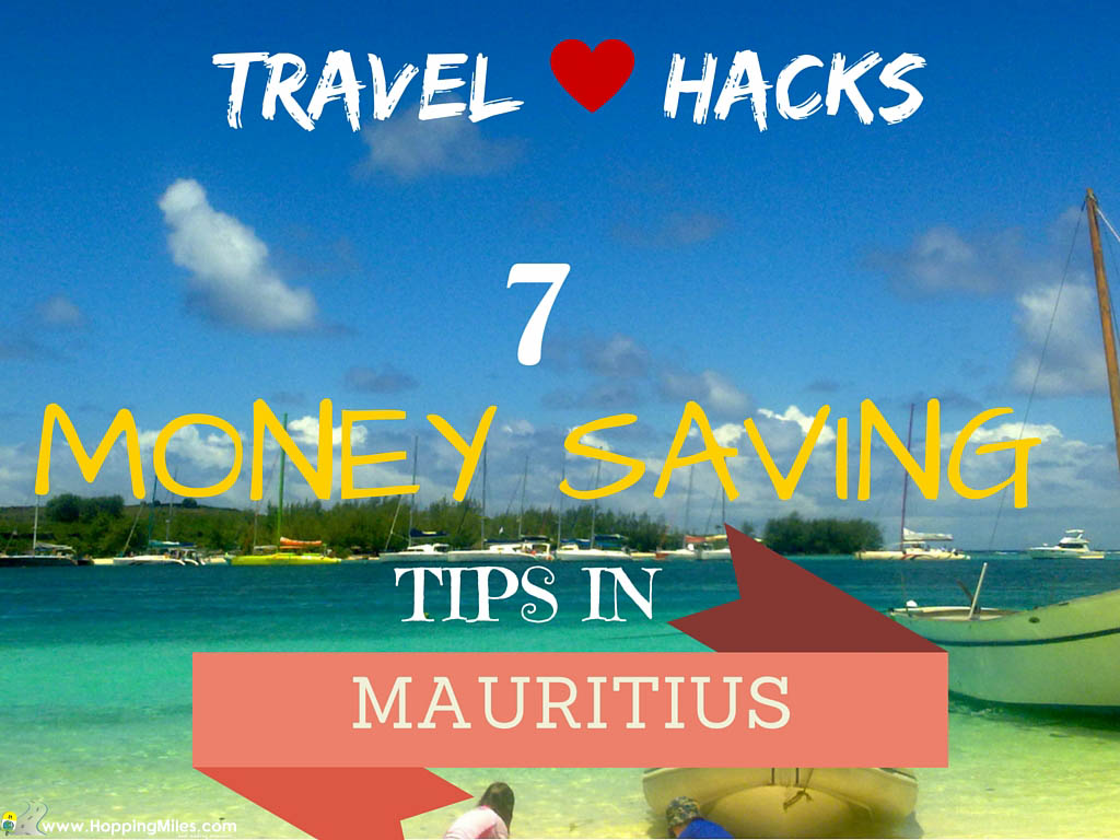 Mauritian Cookbook Cover : Travel hack money saving tips when on a mauritius holiday