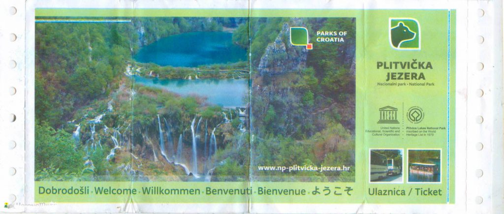 Plitvice Guide ticket