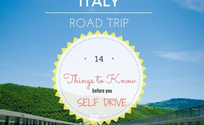 Italy road trip self drive
