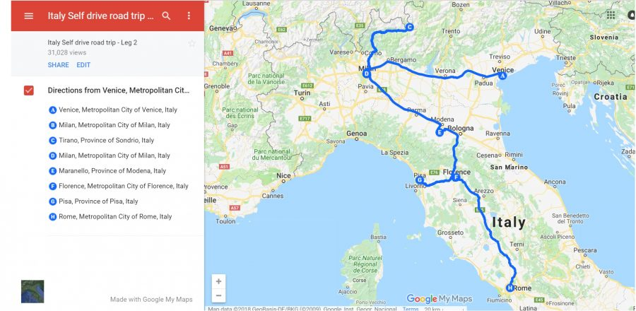 Our Italy Road trip Itinerary - Self drive in Italy on adventure map, history map, folded map, florida map, book map, nature map, rock map, love map, vacation map, science map, cats map, friendship map, us highway map, restaurant map, world map, go map, technology map, random map, black map, vintage map,