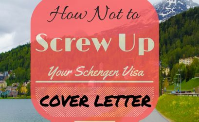 Schengen Visa Cover Letter Format with Samples and common mistakes