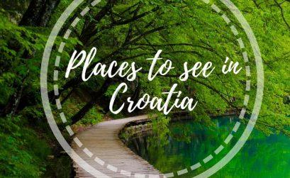 Croatia itinerary