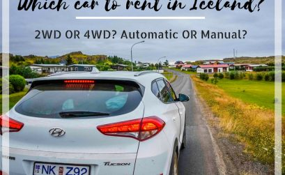 What car to rent in Iceland - 2x2 or 4x4? Automatic or manual?