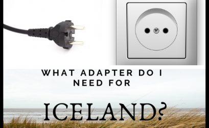 Iceland power adaptor