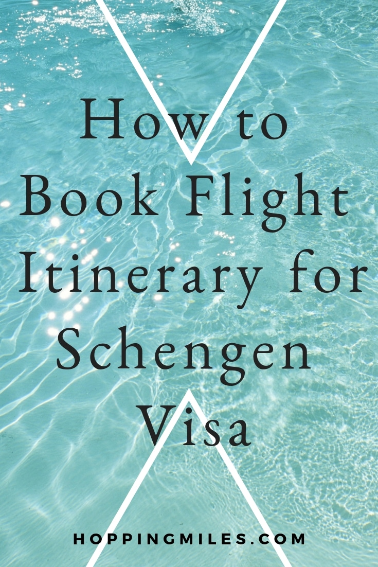 How to Book Flight itinerary and Hotel Bookings for Schengen Visa Application Process